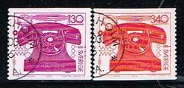 SUEDE /Oblitérés/Used/1976 - Centenaire Du Téléphone - Oblitérés