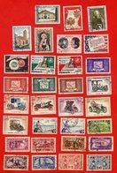 Lot De 31 Timbres MONDE Oblitérés - Stamps