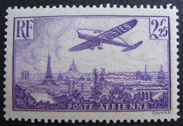 R1692/64 - 1936 - POSTE AERIENNE - N°10 NEUF** - Cote : 40,00 € - 1927-1959 Mint/hinged