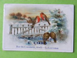 Carte Commerciale - Belgique - La Louvière - Grande Chapellerie Du Centre, 60-62 Rue Du Commerce - L LIARD - La Louvière