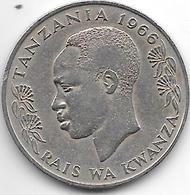 *tanzania 1 Shilingi 1966  Km 4 - Tanzanie