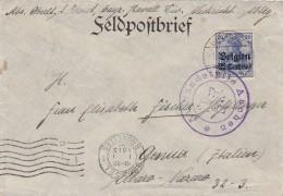 Deutsches Reich  Landespost Belgien Brief 1914-18 - Besetzungen 1914-18