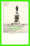 QUÉBEC - MONUMENT CHAMPLAIN - ANIMÉE - GREETINGS FROM QUEBEC - UNDIVIDED BACK - - Québec - La Cité
