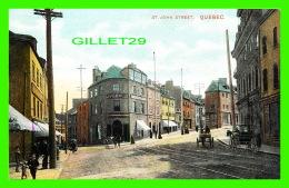 QUÉBEC - ST JOHN STREET - ANIMÉE - MONTREAL IMPORT CO - - Québec - La Cité