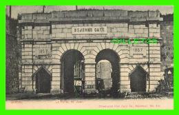 QUÉBEC - LA PORTE ST JEAN - ILLUSTRATED POST CARD CO - CIRCULÉE EN 1906 - DOS NON DIVISÉ - - Québec – Les Portes