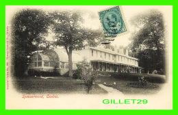 QUÉBEC - SPENCERWOOD - PARC DU BOIS DE COULONGE - CIRCULÉE EN 1905 - IMPERIAL SERIES - PICTURE POSTCARD CO - - Québec - La Cité