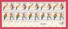 1976 Olympic Games - Scott #1695-98 - U.S. Plate Block Strip Of 20 [#4477] - Plate Blocks & Sheetlets