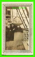 """SHIP - BATEAU - STEAMER  """" OTTAWA """" - SUR LE PONT EN 1906 - - Paquebots"""