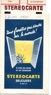 STEREOCARTE  BRUGUIERE PARIS - LA CHAISE DIEU ( 2141 )2 Juillet 1966 - Dias