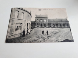 * RAMILLIES-STATION  La Gare  Début 1900 - Ramillies