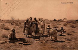 Algérie - Cuisson D'une Difta - Scenes