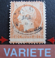 R1680/95 - NAPOLEON III N°23 - CàD - BEAU PIQUAGE DECALE - Cote : 15,00 € - 1862 Napoleon III