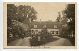 Saint Aubin De Cadelech Château De Cadelech (rare) - Autres Communes