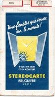 STEREOCARTE BRUGUIERE PARIS - AQUARIUM DE MONACO ( Serie 3) - Dias