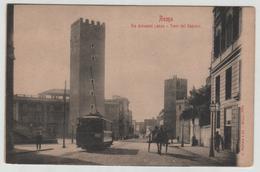 Italy Italie Italia Roma Rome Tram Strassenbahn Elettrico Via Giovanni Lanza 9296 Post Card Postkarte POSTCARD - Tram