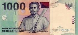 INDONESIA 1000 RUPIAH 2011 (2000) P-141k UNC  [ID597k] - Indonesia