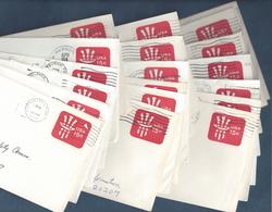 Scott #U581 - Lot Of 20 - 15c Uncle Sam Stamped Envelope Entires [#4490] - Postal Stationery