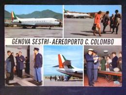 LIGURIA -GENOVA -AEROPORTO COLOMBO -F.G. LOTTO N°309 - Genova