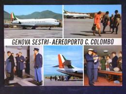 LIGURIA -GENOVA -AEROPORTO COLOMBO -F.G. LOTTO N°309 - Genova (Genoa)