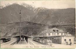 Brig-Bahnhof  Voir Verso - VS Valais