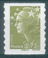 """France, """"Marianne De Beaujard"""", 0.73€, 2009, MNH VF Self-adhesive Stamp - 2008-13 Marianne Of Beaujard"""
