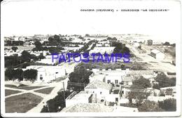 101519 URUGUAY COLONIA VISTA PARCIAL AEREA BREAK POSTAL POSTCARD - Uruguay