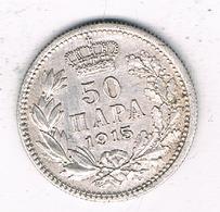 50 PARA 1915 SERVIE /6781/ - Serbia