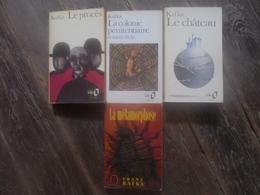 Petit Lot - 4 Livres De Franz KAFKA - Lots De Plusieurs Livres