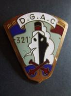 INSIGNE #5 TROUPES DE MARINE ARTILLERIE COLONIALE  321 DGAC  ???  VOIR - Armée De Terre