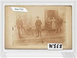 3846 AK/PC/CARTE PHOTO/N°568  BONNE CHASSE VILLAGE A IDENTIFIER - Cartoline