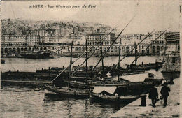 ALGER - Vue Générale Prise Du Port - Algiers