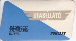 ANTIGUA ETIQUETA DE LA COMPAÑIA AEREA UTASELLATO  (AVION-PLANE)  HUNGARY - Etiquetas De Equipaje