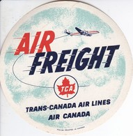 ANTIGUA ETIQUETA DE LA COMPAÑIA AEREA TCA - TRANS-CANADA AIR LINES  (AVION-PLANE) - Etiquetas De Equipaje