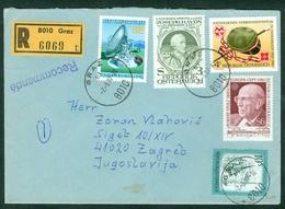 Austria 1980 1982 1983 Europa CEPT Robert Stolz Music Joseph Haydn Aflenz Communications Rec. Letter Abroad - 1991-00 Storia Postale