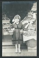 LIEGE. Photo Carte. Magasin Punay. Epicerie, Fruits, Legumes... Rue Robert Centner (?) 1927/28. - 2 Scans - Liege