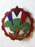 INSIGNE #13 TROUPES DE MARINE INFANTERIE COLONIALE TRAIN ??? FFL FRANCE LIBRE ??? A VOIR - Armée De Terre