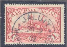 "Marshall: Yvert N° 22°; Superbe; Oblitéré ""Jaluit"" - Kolonie: Marshall-Inseln"