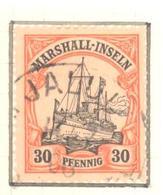 "Marshall: Yvert N° 18°; Superbe; Oblitéré ""Jaluit"" - Colonie: Marshall"