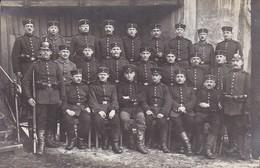 AK Foto Deutsche Soldaten - Gewehr Pickelhaube - Feldpost  II. Ers. Batl. 4. Inf. Regt. 103 - 1916 (36968) - Guerra 1914-18