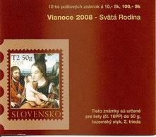 SLOVAKIA, 2008, Booklet 63,  Christmas - Autres