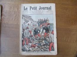 LE PETIT JOURNAL 30 SEPTEMBRE 1906 CATASTROPHE DU FORT DE MONTFAUCON,UNE FEMME GUERRIERE A CUBA SENORA CLAVA SANTOS - Giornali