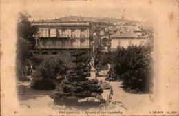 Algérie - PHILIPPEVILLE - Square Et Rue Gambetta - Skikda (Philippeville)