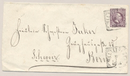 Nederlands Indië - 1904 - 25 Cent Willem III, Envelop G3c Van VK Weltevreden Naar Bern / Schweiz - Nederlands-Indië