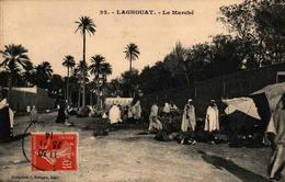 Algérie - LAGHOUAT - Le Marché - Laghouat