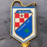 Flag (Pennant / Banderín) ZA000349 - Football (Soccer / Calcio) Croatia Sloga Podgorac - Apparel, Souvenirs & Other