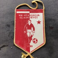 Flag (Pennant / Banderín) ZA000351 - Football (Soccer / Calcio) Croatia Slavonija Sladojevci - Apparel, Souvenirs & Other