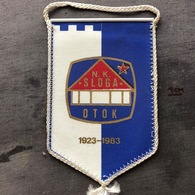 Flag (Pennant / Banderín) ZA000352 - Football (Soccer / Calcio) Croatia Sloga Otok - Apparel, Souvenirs & Other