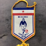 Flag (Pennant / Banderín) ZA000353 - Football (Soccer / Calcio) Croatia Sloga Tordinci - Apparel, Souvenirs & Other