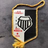 Flag (Pennant / Banderín) ZA000364 - Football (Soccer / Calcio) Croatia Sparta Beli Manastir - Apparel, Souvenirs & Other