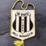 Flag (Pennant / Banderín) ZA000365 - Football (Soccer / Calcio) Croatia Sparta Beli Manastir - Apparel, Souvenirs & Other